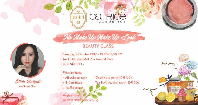 Beauty Workshop: No Make Up Make Up Look