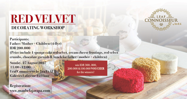 Red Velvet Decorating Workshop